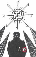 Nazi Evil Religion by JimWolfdog