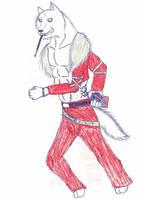 One of Wolf-Sasuke's Character by JimWolfdog