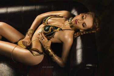 Slave Leia by Vavalika