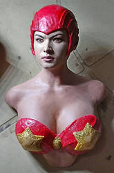 darna sculpture wip by aramismarron