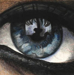 xtina's eye by aramismarron