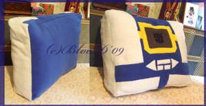Soundwave pillow by Guard-of-Minasteris