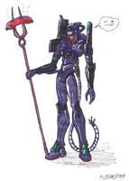 Eva 01 by Guard-of-Minasteris