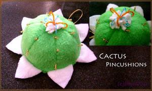 Cactus pincushions by Guard-of-Minasteris