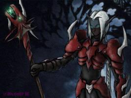 Dark Elf by Guard-of-Minasteris