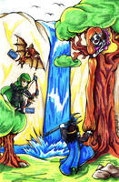 HOMM3 - Rapuncle by Guard-of-Minasteris