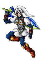 LoZ MM Link 3 by Guard-of-Minasteris