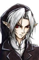 LoZ OoT - Dark Link 2 by Guard-of-Minasteris