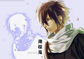 Wallpaper Hajime Saito by KuRumi-FlameSamurai