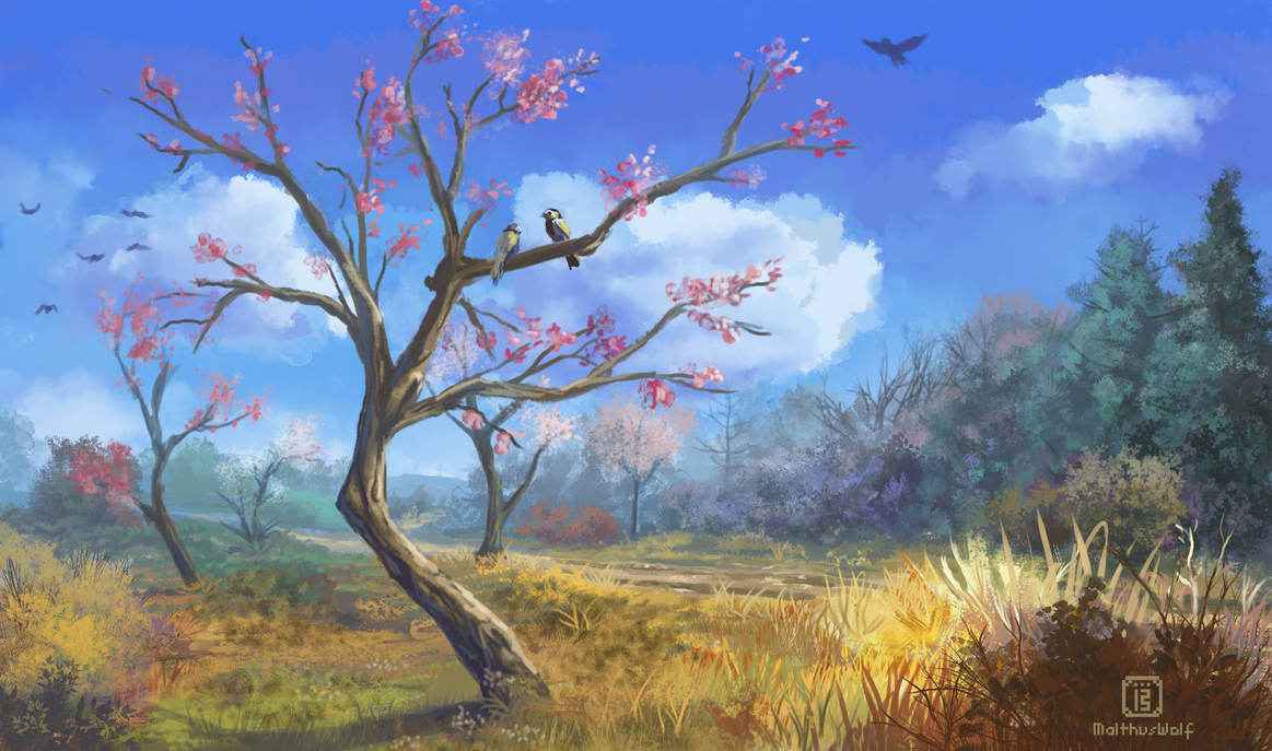 Spring has sprung by MalthusWolf