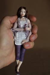 Oliva2 - porcelain BJD 15 cm by MovingDolls