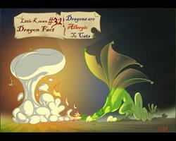 Dragon Fact number 32 by Wenamun