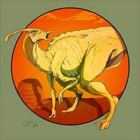 Parasaurolophus by Wenamun