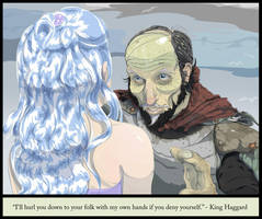 King Haggard and the lady Amalthea by Wenamun