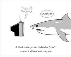 Anti-Jaws Shark by Wenamun