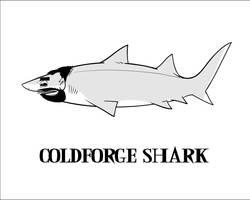 Coldforge Shark by Wenamun