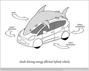 Hybrid Vehicle Shark by Wenamun