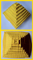 Origami Pyramid by stonesliver
