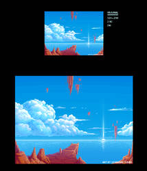 BG pixelart by leocirius