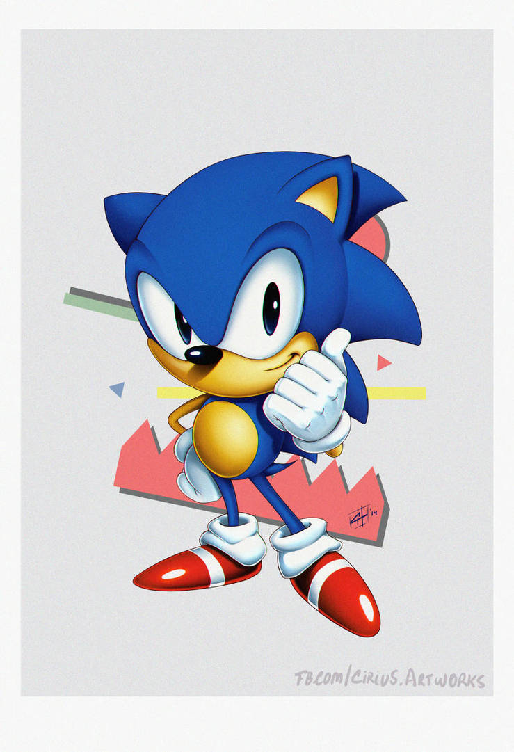 [FanArt] Sonic Classic by leocirius