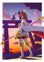 Card Captor Sakura Fanart Challange by leocirius