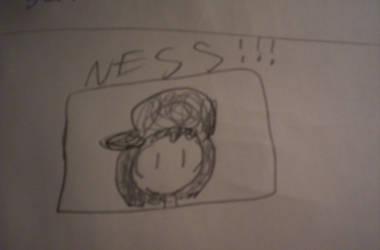 It's Ness by komikmaker