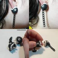 Chain Chomp Earrings by ChibiSilverWings