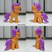 Scootaloo Custom by ChibiSilverWings