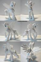 Reshiram Ponymon by ChibiSilverWings