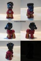 Iron Man Pony Stark by ChibiSilverWings