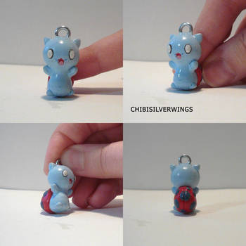 Catbug Charm by ChibiSilverWings