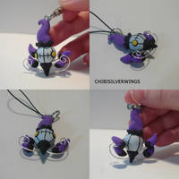 Chandelure Prototype by ChibiSilverWings