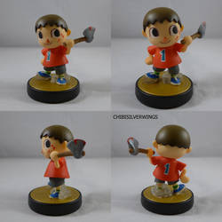 Villager Ax Amiibo/Killager by ChibiSilverWings