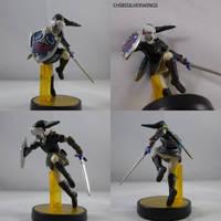 Dark Link Amiibo by ChibiSilverWings