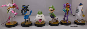 9th Set of Amiibo by ChibiSilverWings