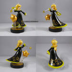 Rosalina Black Dress Alt Gold Luma by ChibiSilverWings