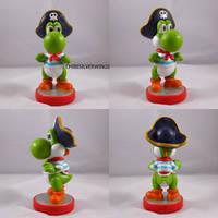 Pirate Yoshi Pirate Land Mario Party 2 by ChibiSilverWings