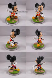 King Mickey Kingdom Hearts Disney Infinity Custom by ChibiSilverWings