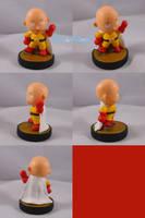 Villager Saitama One Punch Man Amiibo by ChibiSilverWings