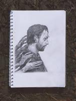 The Walking Dead sketch by YURISHWEDOFF