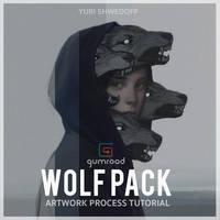 Wolf Pack Process Tutorial by YURISHWEDOFF