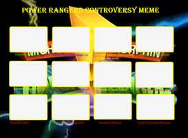Power Rangers Meme BLANK by JasperPie