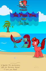 The Pizza Pone and the Sea Cover by JasperPie