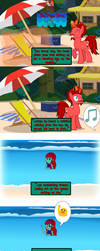 The Pizza Pone and the Sea, Page 01 by JasperPie