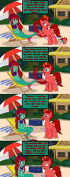 The Pizza Pone and the Sea, Page 02 by JasperPie