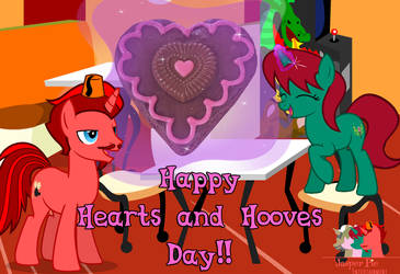 Happy Hearts and Hooves Day 2019 by JasperPie