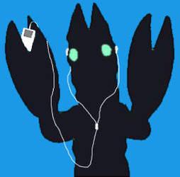 Alien Baltan with Apple Ipod by Psyke80
