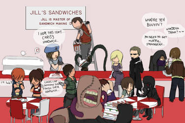 Jill Sandwich?? by helyxzero