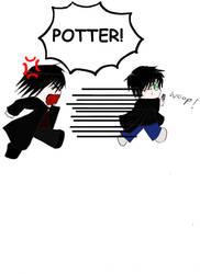 POTTER by animefairyofdarkness