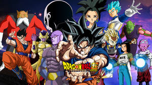 STRONGEST Tournament Of Power Fighters WALLPAPER by WindyEchoes